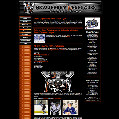 New Jersey Renegades Junior Hockey Club